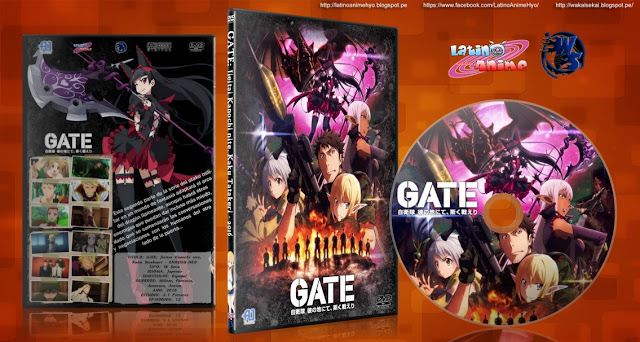 GATE: Jieitai Kanochi nite, Kaku Tatakeri (2016)   12/12   Cover DVD   BDRip   720p   MEGA  