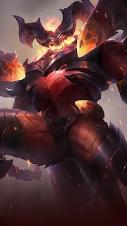 Thamuz Lord of Lava Heroes Fighter of Skins V1