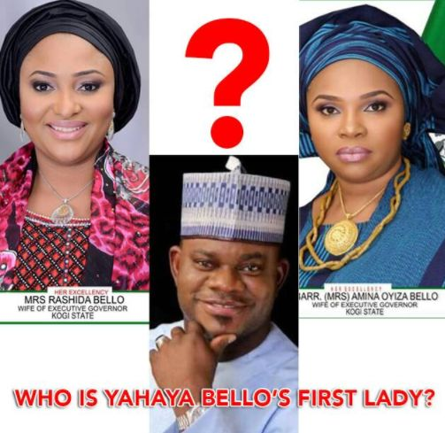 Gov Yahaya Bello Parades 2 Women As First Lady of Kogi State