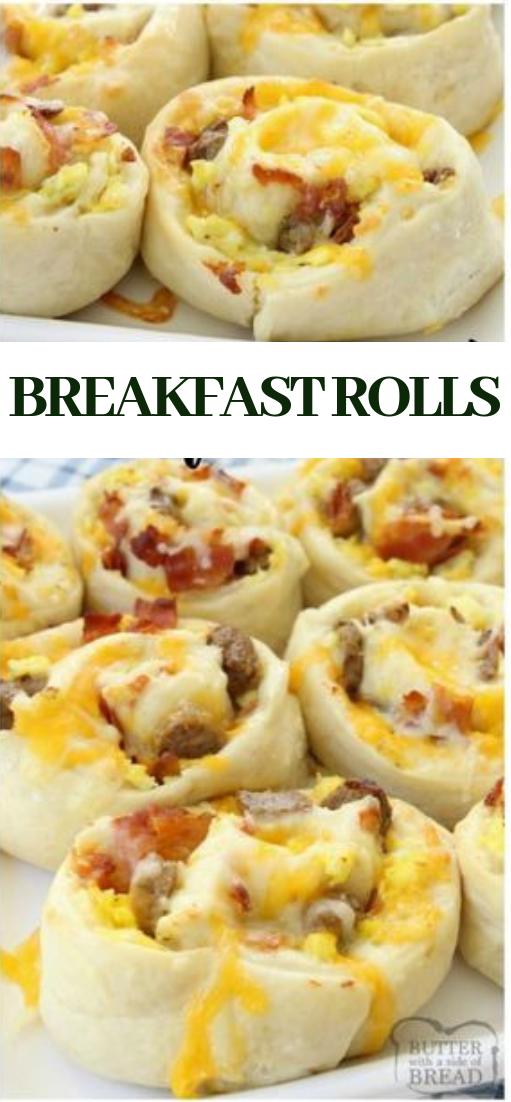 BREAKFAST ROLLS #healthy #rolls