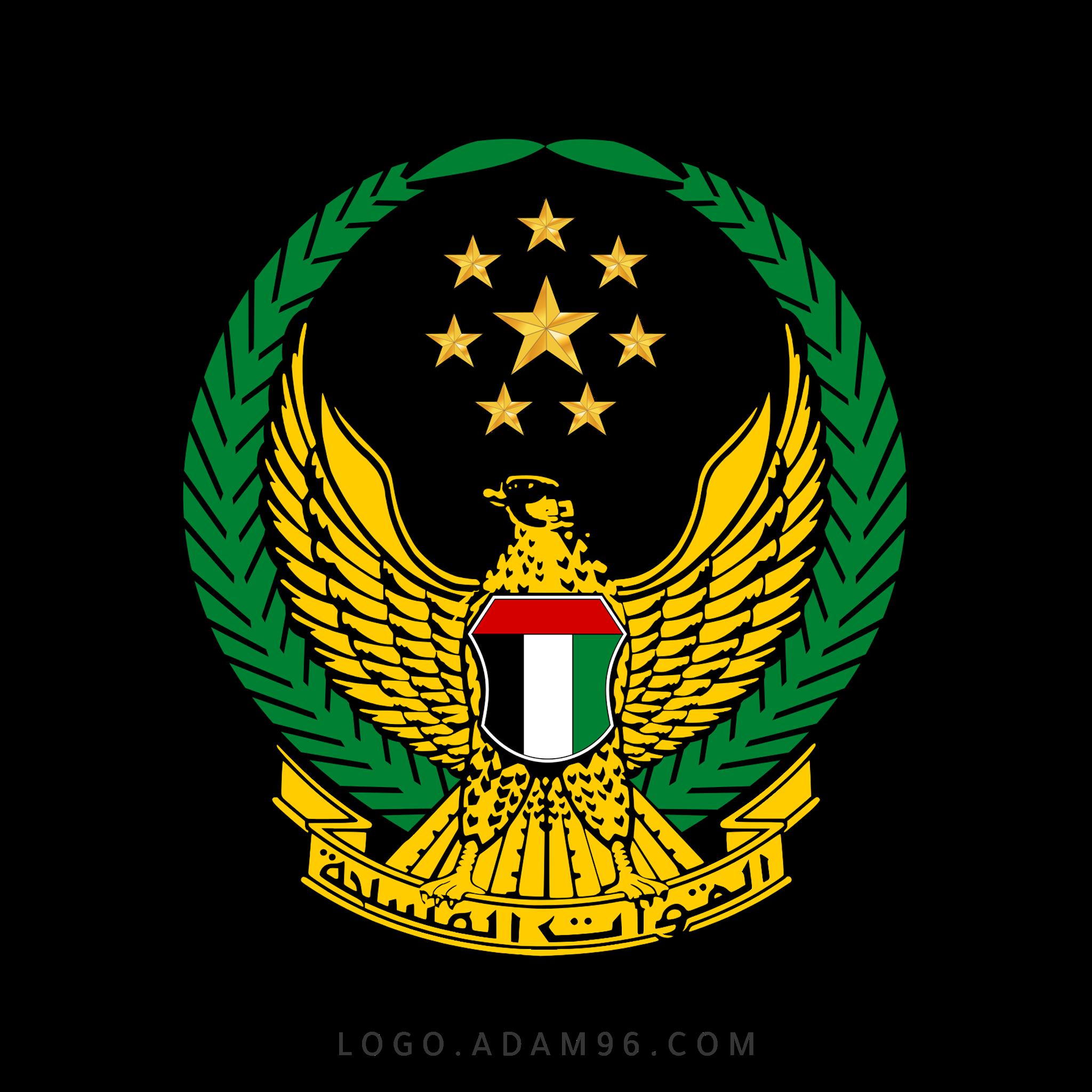تحميل شعار القوات المسلحة دولة الإمارات العربية المتحدة لوجو PNG