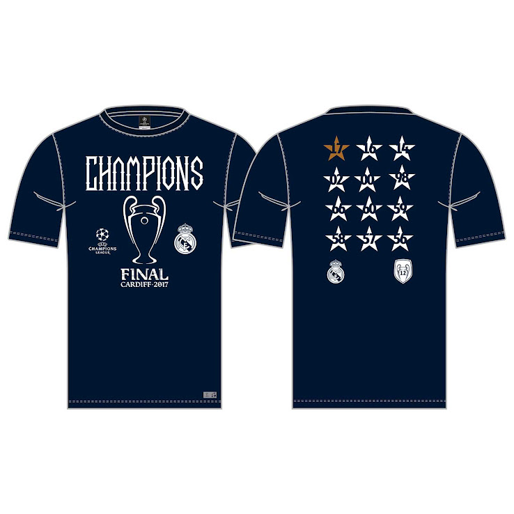 Real Madrid 2017 Champions League Winners Collection Revealed ... 473a317dfaa0f