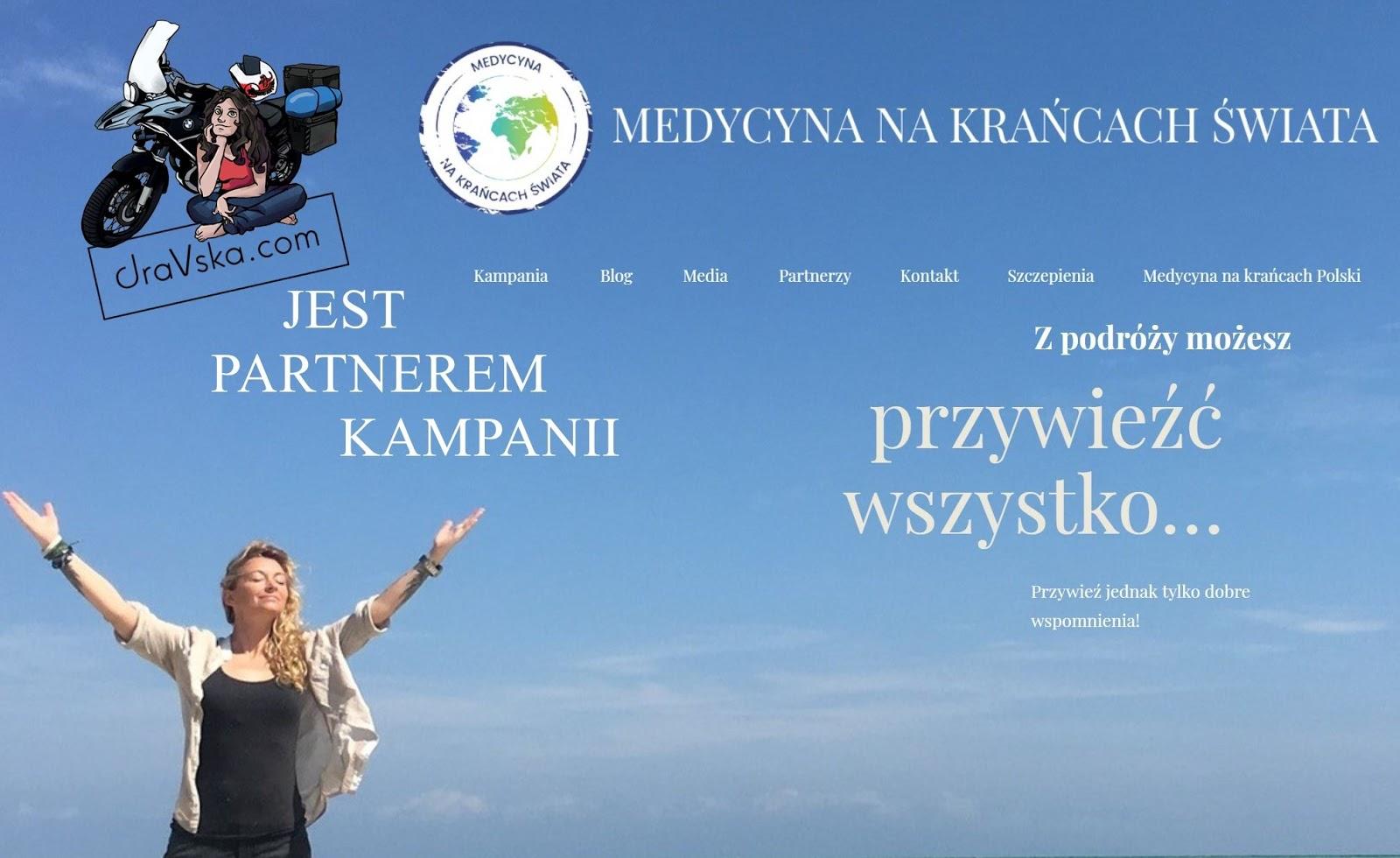 Medycyna na Krańcach świata - kampania edukacyjna na rzecz świadomości podróżników