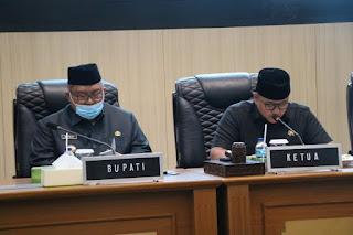 Bupati Sukabumi Sampaikan Nota Jawaban Atas Pandangan Umum Fraksi