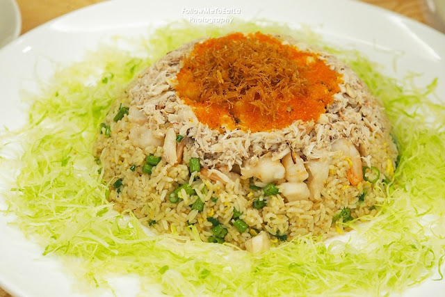 Imperial Fried Rice With Fish Roe