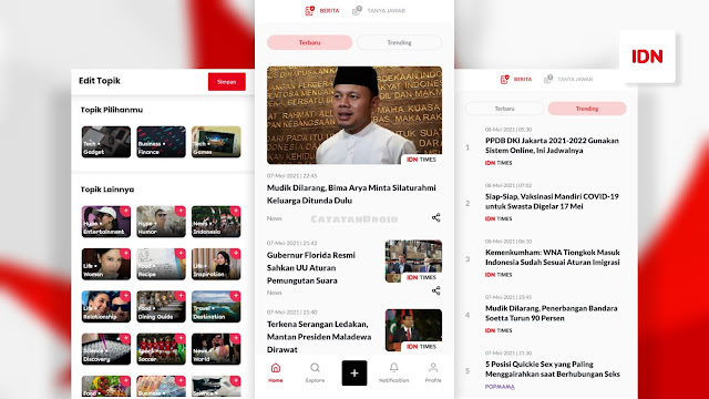 Review IDN App Aplikasi Baca Berita Terlengkap Indonesia