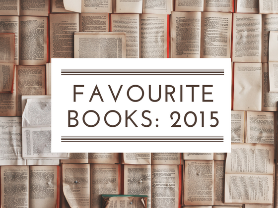 Favourite books read in 2015