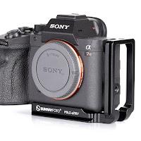 New Sunwayfoto PSLO-a7RIV Custom L Bracket for SONY α7RIV Camera with QD Socket