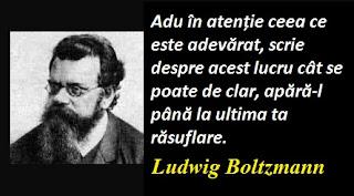Maxima zilei: 20 februarie - Ludwig Boltzmann