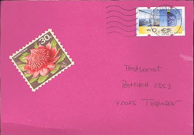 PostSecret auf Deutsch, Postfach 2553, 72015 Tübingen, Germany