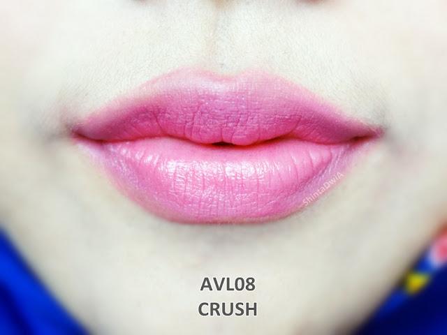 review absolute new york velvet lippie crush