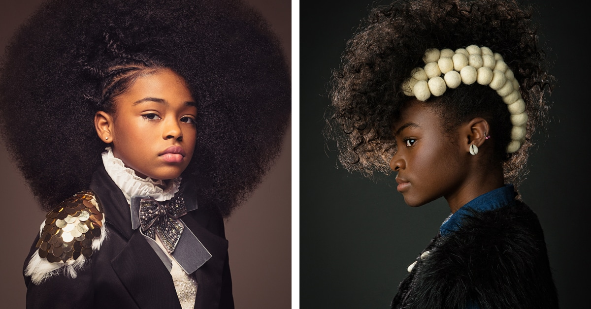 15 Baroque-Inspired Breathtaking Portraits Of Girls With Natural Afro Hair
