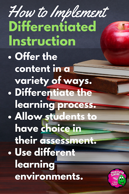 Learn how to increase student engagement and learning by implementing differentiated instruction in your classroom.