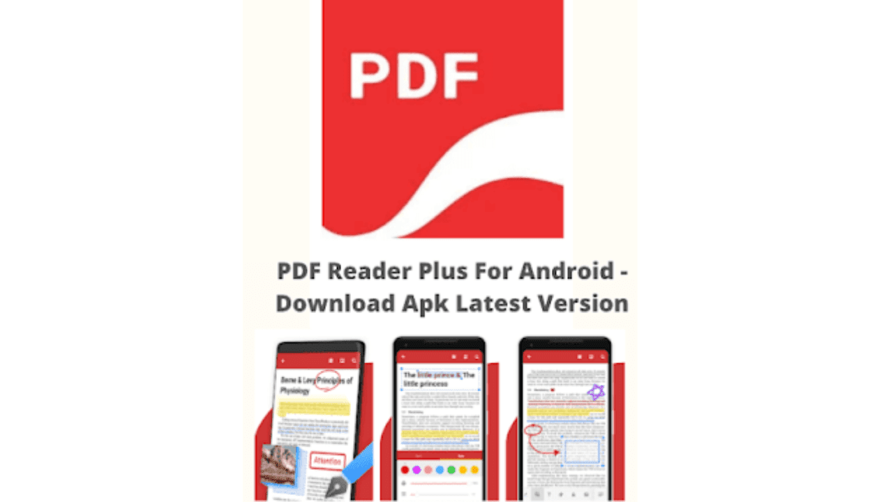 PDF Reader Plus For Android - Download Apk Latest Version