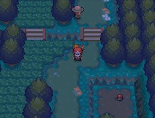 Pokemon Red Reloaded/Rojo Fuego para NDS Bosque Verde
