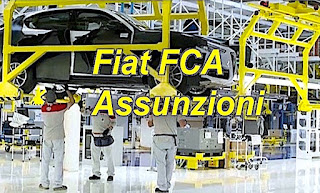 Lavoro Fiat FCA - adessolavoro.blogspot.com
