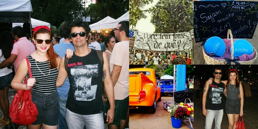 a feira da cidade