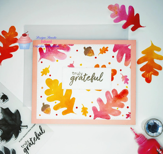 Truly Grateful by Ishani features Shades of Autumn by Newton's Nook Designs; #newtonsnook