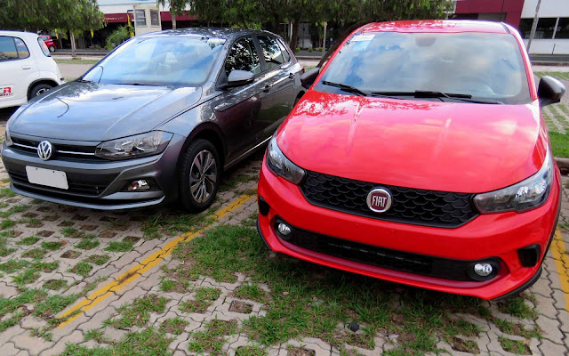 Fiat Argo 2018 x VW Polo