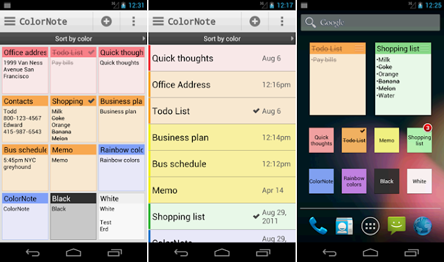 Download Color Note apk