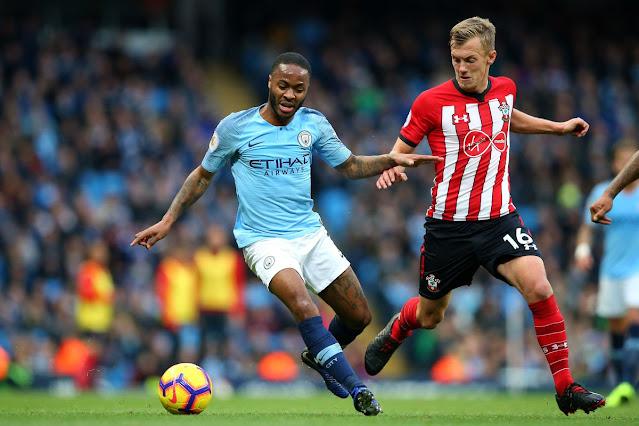 Prediksi Liga Inggris : Manchester City  vs Southampton