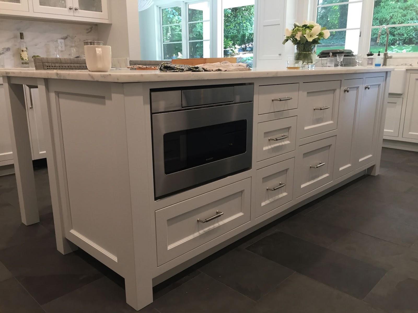 kitchen islands create built in social