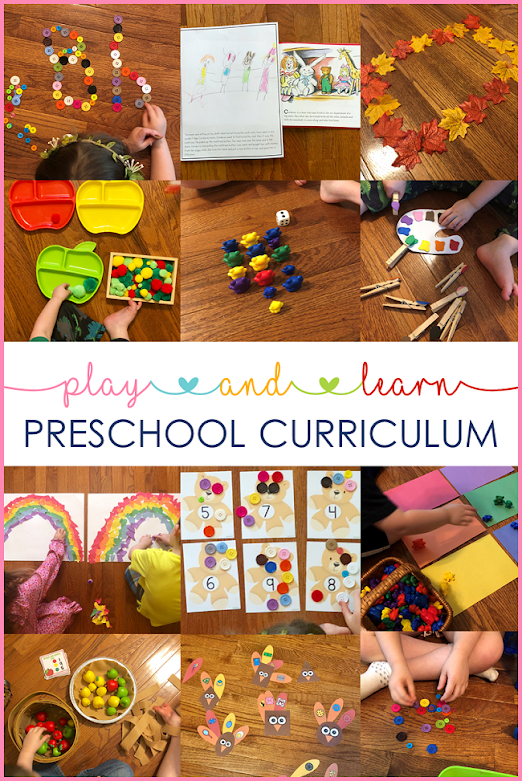 This thematic preschool curriculum is an engaging preschool curriculum for early learner.