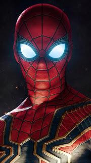 Iron Spider Armor Mobile HD Wallpaper