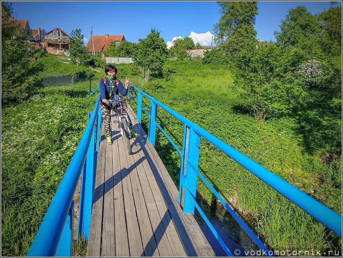 Неразводные мосты в Каменское