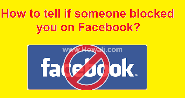 How to tell if someone blocked you on Facebook?