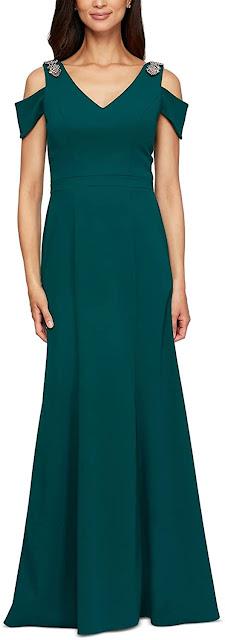 Elegant Green Mother of The Groom Dresses