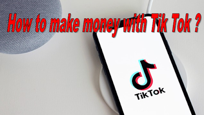 How to make money withTikTok : Make Money Through Gifting, Through Brand Partnerships and Influencer Marketing,Participate on Brand-Sponsored Events,Selling Tax of Merchandise,Cross Promote with other social networks