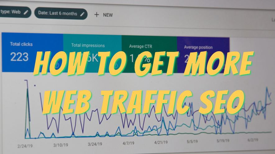 How to get more web traffic seo