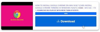 Cara Download Video Youtube Tanpa Aplikasi dengan loader.to