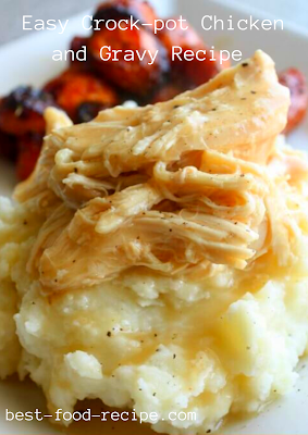 Easy Crock-pot Chicken and Gravy Recipe