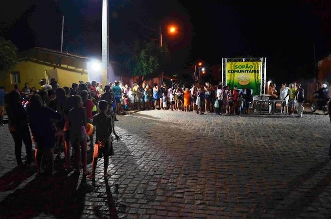 Prefeitura de Japi dá continuidade ao projeto Sopão Comunitário