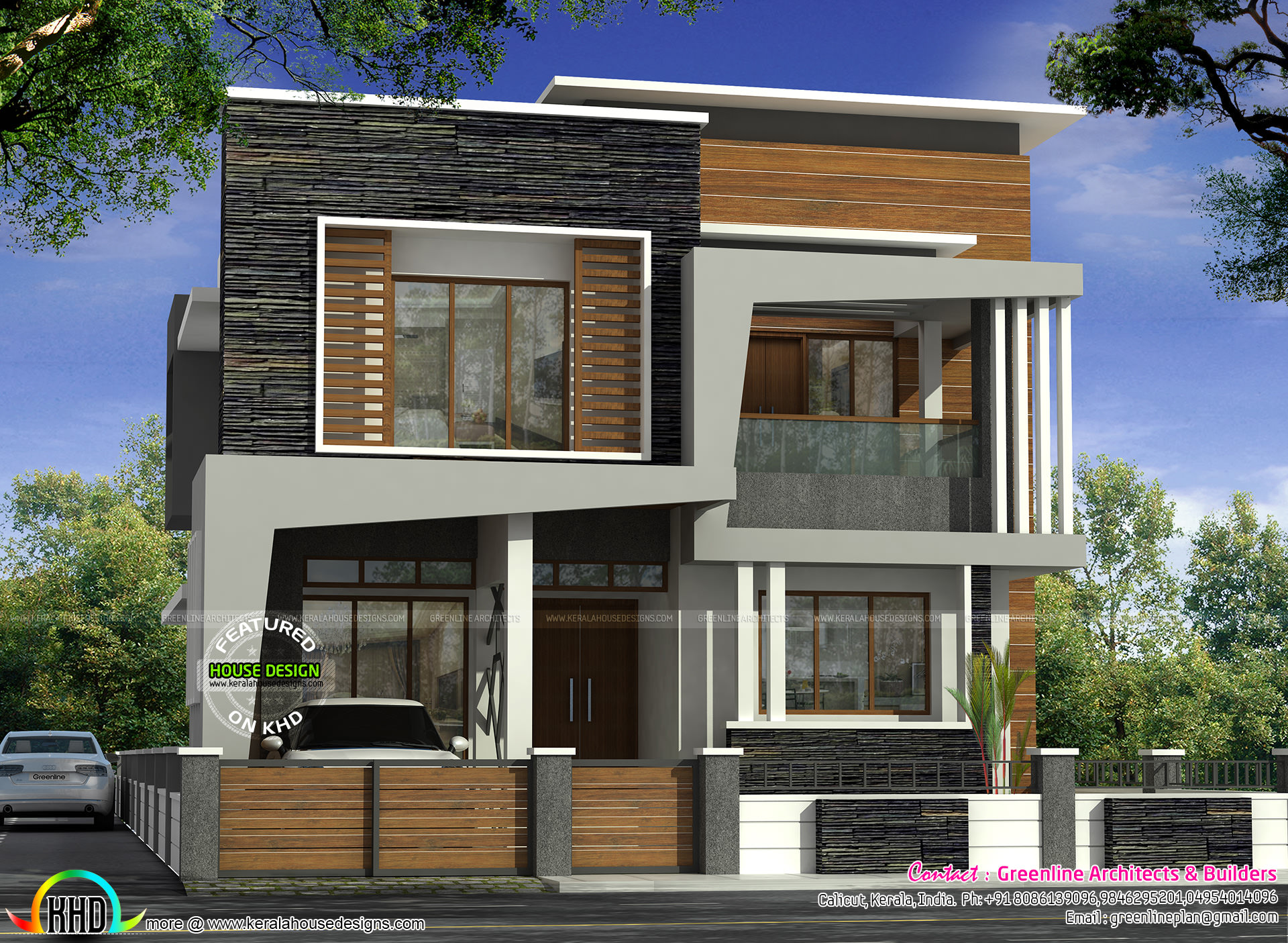Kerala Home Design 700 Sq Ft Part - 19: Ground Floor Area : 800 Sq.Ft. First Floor Area : 700 Sq.Ft. Total Area :  1500 Sq.Ft. No. Of Bedrooms : 3. No. Of Bathrooms : 3. Porch : 1. Design  Style ...