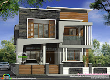 40x50 Modern Kerala Home Architecture - Design