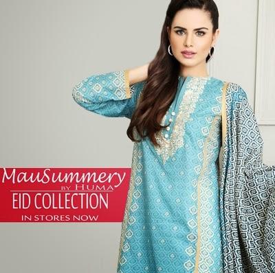 Mausummery by Huma Eid 2014-2015 Catalogue   Raaniya Eid