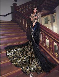 Model Kebaya Modern Hitam Elegan