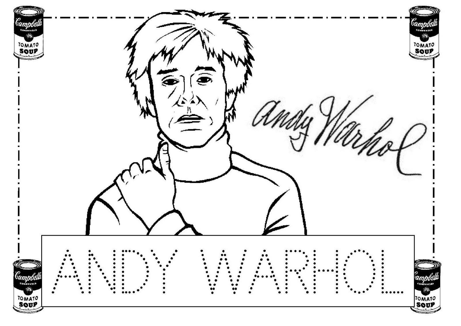 Escuela infantil castillo de Blanca: ANDY WARHOL