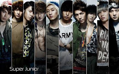 Fhoto dan Biodata Super Junior Terlengkap