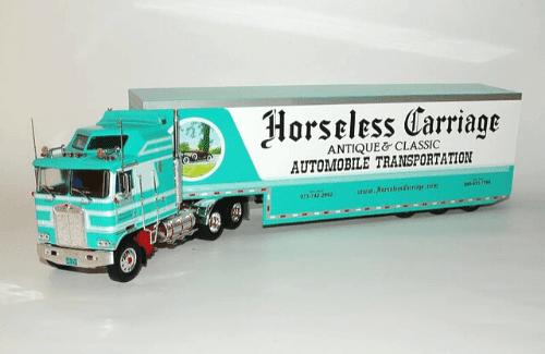 Kenworth K100 Aerodyne 1:43 horseless carriage, camiones 1/43, camiones americanos 1:43, coleccion camiones americanos 1:43, camiones americanos 1/43 altaya españa