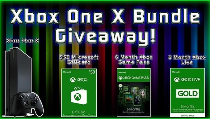 Sorteio de Um Xbox One X Bundle!!