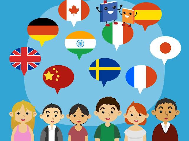 تعلم أي لغة جديدة