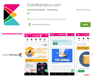 Cara Register Aplikasi EventKampus.com 2020