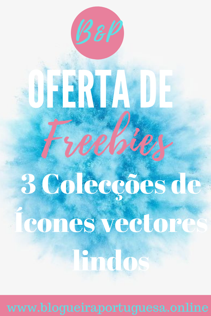 Oferta de Freebies 3 colecções ícones lindos do meu pinterest