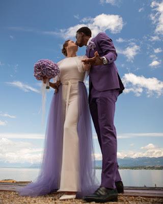 Gael Monfils And Elina Svitolina Wedding Photos
