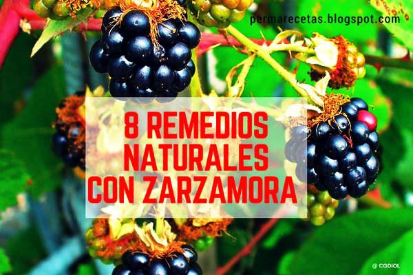8 Remedios naturales con zarzamora muy comunes en Europa, fáciles de preparar