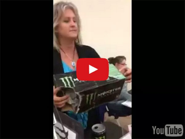 Monster Energy Drinks Anti-Christ, Viral Video Claims